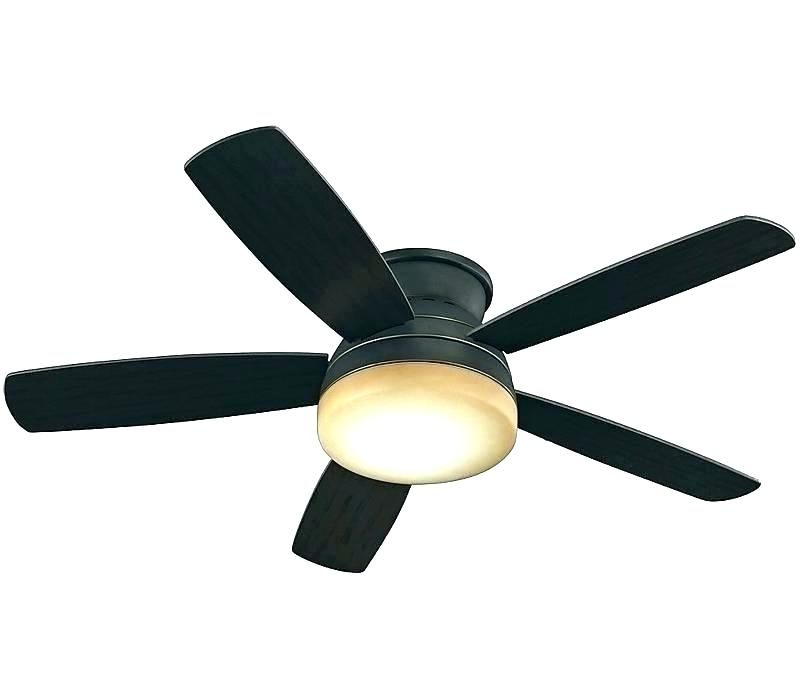 Outdoor Ceiling Fans Flush Mount With Light Intended For Famous Low Profile Ceiling Fans Flush Mount Low Profile Outdoor Ceiling Fan (View 3 of 15)
