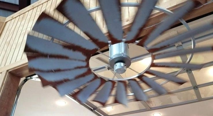 Outdoor Ceiling Fans For Barns In Fashionable Windmill Ceiling Fan Surprise Outdoor With Light Kit Style Fans (View 13 of 15)