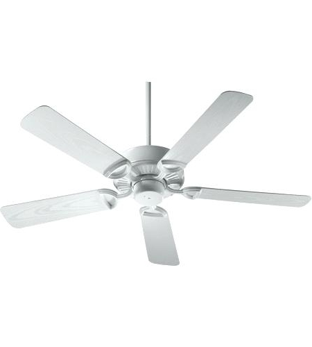 Outdoor Ceiling Fans For Canopy Regarding Well Known White Outdoor Ceiling Fan With Light White Ceiling Fan No Lights (View 9 of 15)