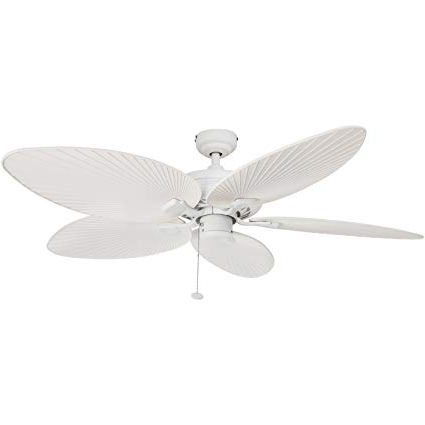 Outdoor Ceiling Fans For Coastal Areas Inside Fashionable Amazon: Palm Coast Fans 50200 Palm Island Tropical Indoor (View 14 of 15)