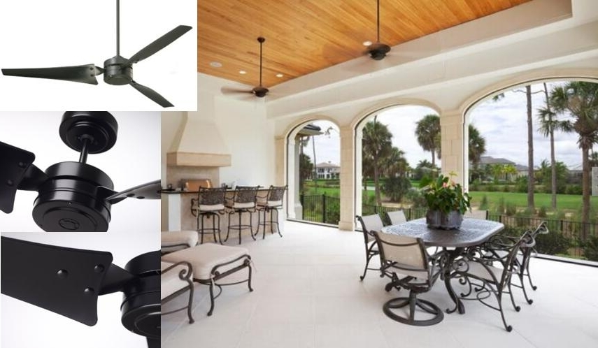 Outdoor Ceiling Fans For Porch Regarding Trendy Best Indoor / Outdoor Ceiling Fans – Reviews & Tips For Choosing (View 5 of 15)