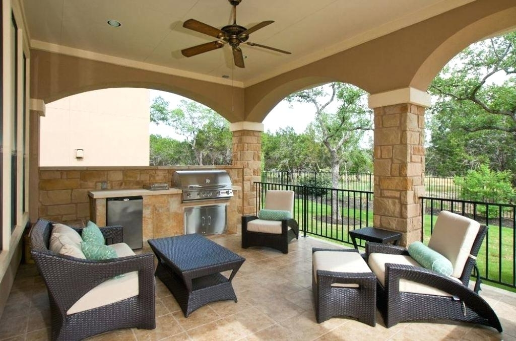 Outdoor Ceiling Fans For Porches With Regard To Most Up To Date Porch Outdoor Ceiling Fan Light Kit Modern Ceiling Design Ideas (View 8 of 15)