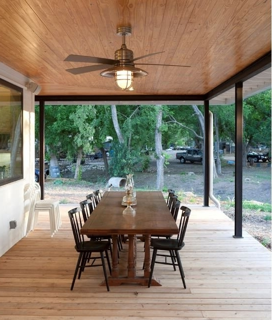 Outdoor Ceiling Fans For Screened Porches For Fashionable Porch Fans Outdoor Keep The Breezes Flowing With Ceiling Lamps Plus (View 7 of 15)