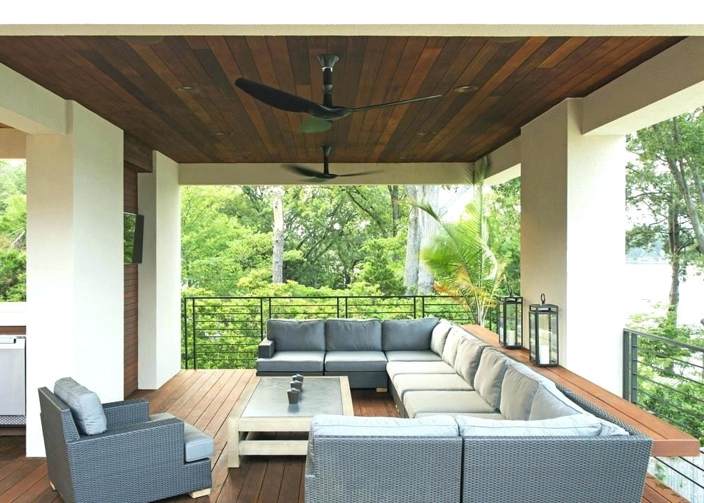 Outdoor Ceiling Fans For Screened Porches Within Favorite Ceiling Fan For Screened Porch Ceiling Fan For Patio Ceilings Ideas (View 8 of 15)
