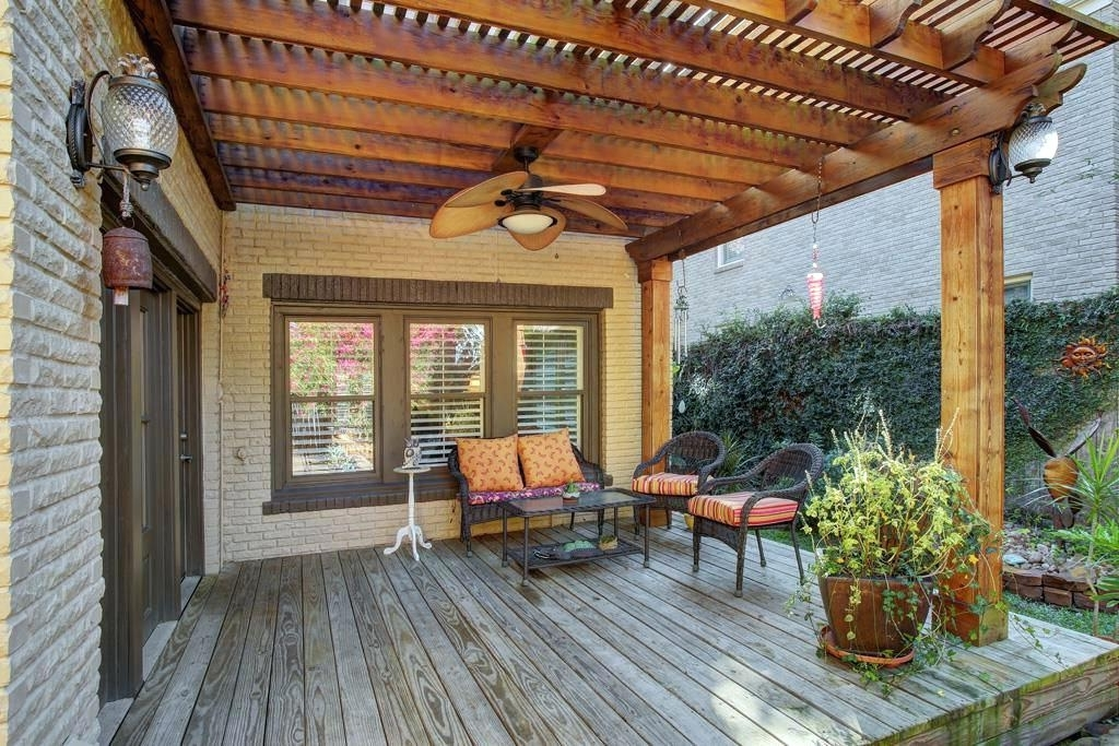 Outdoor Ceiling Fans Under Pergola Pertaining To Latest Pergola Ceiling Fan Outdoor Fans For Pergolas – Adscafe (View 14 of 15)