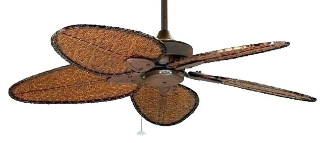 Outdoor Ceiling Fans With Bamboo Blades Throughout Famous Bamboo Ceiling Fans – Dcserve (View 12 of 15)
