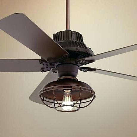 Outdoor Ceiling Fans With Cage With Regard To Preferred Caged Outdoor Ceiling Fans Elegant Fan With Cage Light Lovely (View 9 of 15)