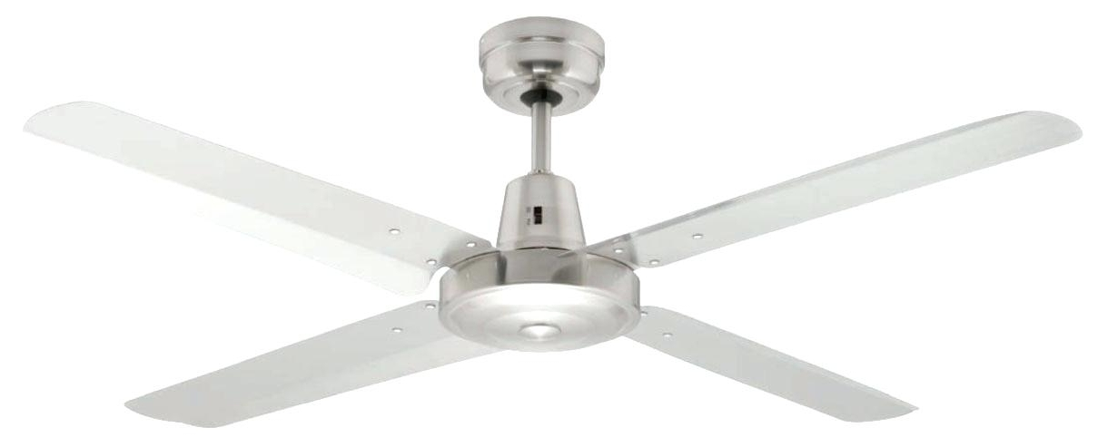 Outdoor Ceiling Fans With Galvanized Blades Regarding Most Recent All Metal Outdoor Ceiling Fans (View 7 of 15)