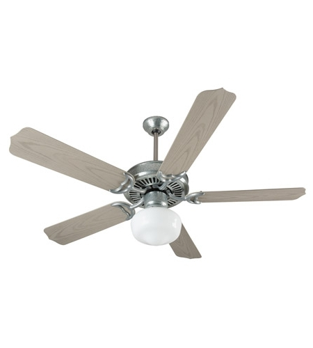 Outdoor Ceiling Fans With Galvanized Blades With Most Recently Released Craftmade K11154 Porch 52 Inch Galvanized Steel With Weathered Pine (View 9 of 15)