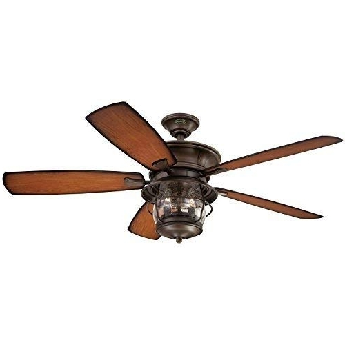 Outdoor Ceiling Fans With Guard Pertaining To Latest 8 Best Outdoor Ceiling Fans Of 2018 – Top Casablanca, Minka Aire And (View 8 of 15)