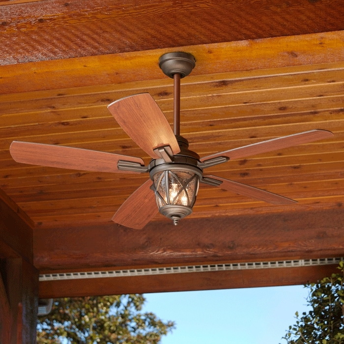 Outdoor Ceiling Fans With Lantern Light With Regard To Preferred Outdoor Lighting Buying Guide (View 13 of 15)