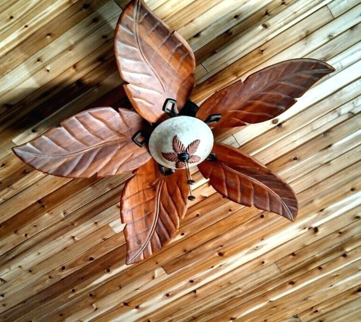 Outdoor Ceiling Fans With Leaf Blades For 2018 Outdoor Fan Blades Harbor Breeze Outdoor Ceiling Fans Outdoor (View 9 of 15)