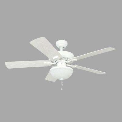 Outdoor Ceiling Fans With Light Globes Within 2017 Globes – Indoor/outdoor – Ceiling Fans – Lighting – The Home Depot (View 7 of 15)