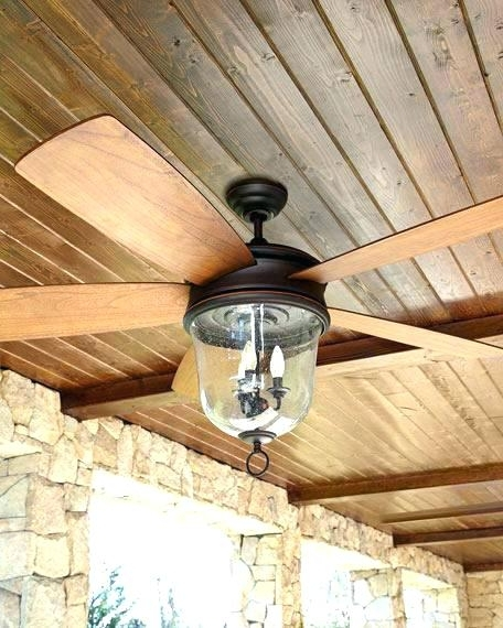 Outdoor Ceiling Fans With Lights In Popular Outdoor Fan With Light New Fan Light Kits For Outdoor Ceiling Fan (View 11 of 15)
