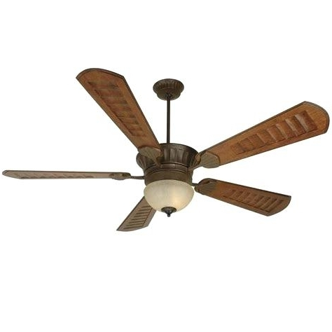 Outdoor Ceiling Fans With Mason Jar Lights Within Favorite Rustic Ceiling Fans Fan Light Kit Antique Bronze With Lights Canada (View 12 of 15)