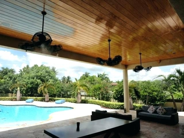 Outdoor Ceiling Fans With Misters Inside Most Recent Misting Ceiling Fan Best Outdoor Ceiling Fans With Misters And Chill (View 7 of 15)