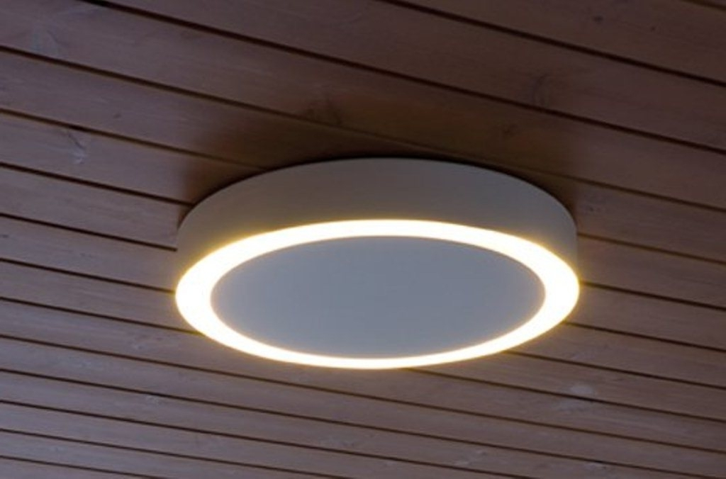 Outdoor Ceiling Fans With Motion Sensor Light For Best And Newest Porch Ceiling Lights With Motion Sensor 2018 Ceiling Fan Light (View 7 of 15)