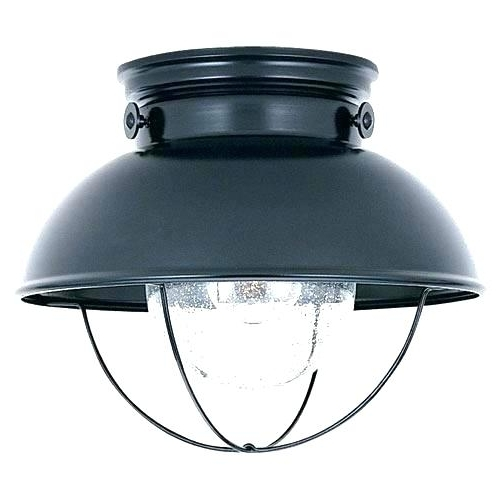 Outdoor Ceiling Fans With Motion Sensor Light In Recent Outdoor Motion Sensor Ceiling Li Motion Detector Porch Ceiling Light (View 2 of 15)