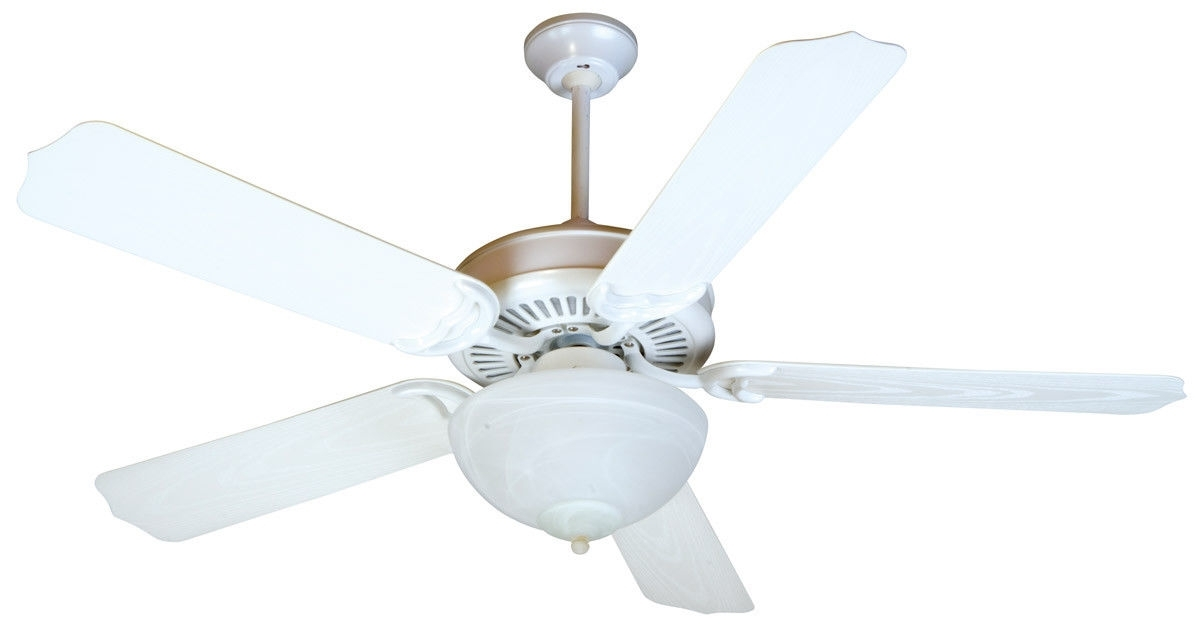 """Outdoor Ceiling Fans With Pull Chains Within Best And Newest Craftmade K10738 Porch Fan 52"""" Outdoor Ceiling Fan With Pull Chain (View 11 of 15)"""