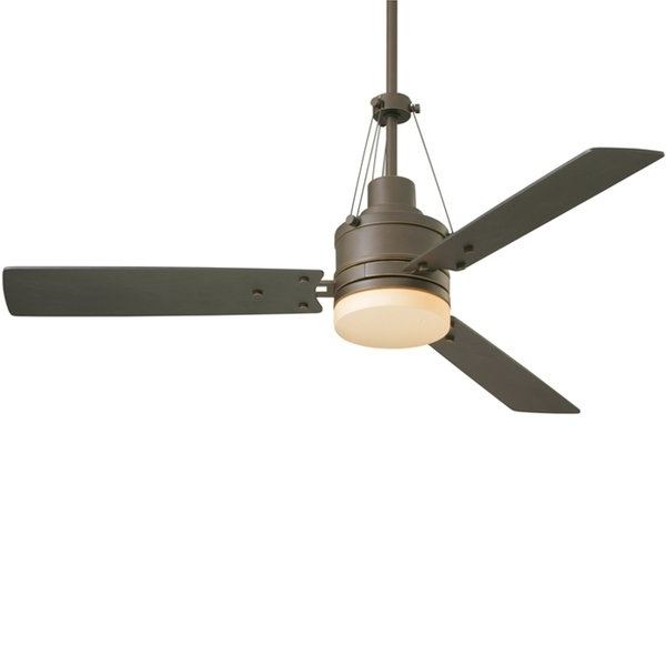 Outdoor Ceiling Fans With Schoolhouse Light Pertaining To Recent Farmhouse & Rustic Ceiling Fans (View 4 of 15)