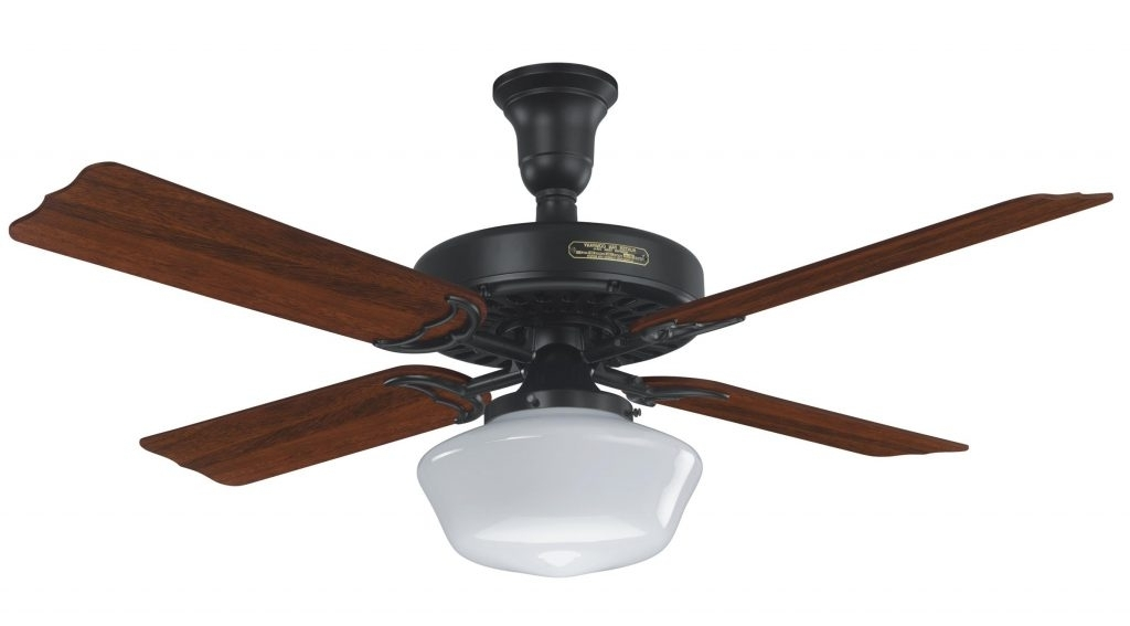 Outdoor Ceiling Fans With Schoolhouse Light With Widely Used Schoolhouse Light Ceiling Fan – Tariqalhanaee (View 15 of 15)