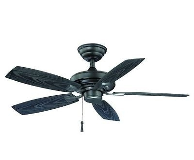 Outdoor Electric Ceiling Fans With Regard To Current Hampton Bay Gazebo Ii 42 In (View 4 of 15)