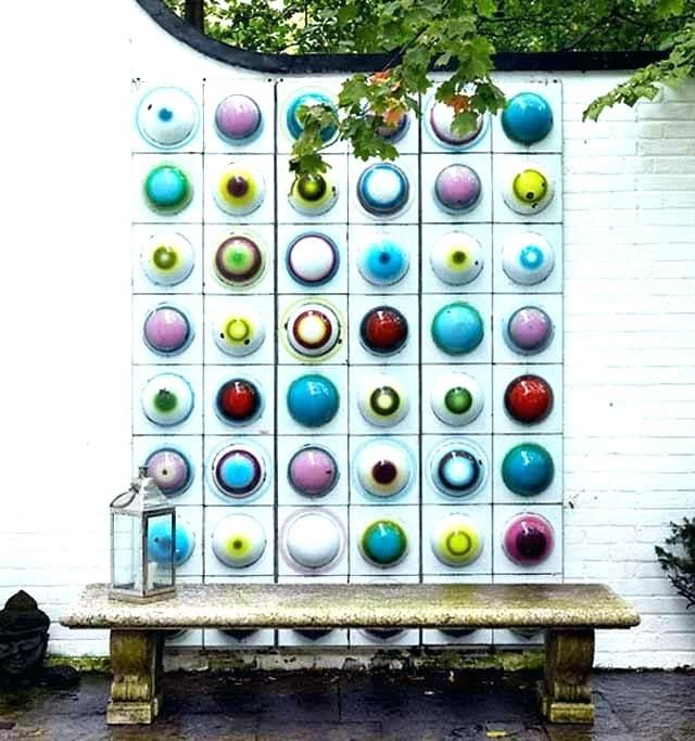 Outdoor Garden Wall Art Metal Garden Wall Art Outdoor Garden Wall inside Favorite Abstract Garden Wall Art
