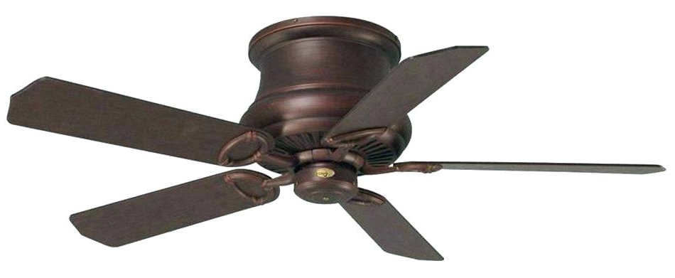 Outdoor Hugger Ceiling Fans Rated Hunter Flush Mount Best Fan For Preferred Hugger Outdoor Ceiling Fans With Lights (View 6 of 15)