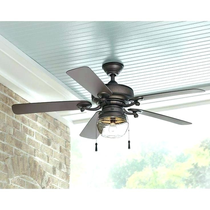 Outdoor Metal Ceiling Fans – Ccforrester Regarding Preferred Metal Outdoor Ceiling Fans With Light (View 12 of 15)
