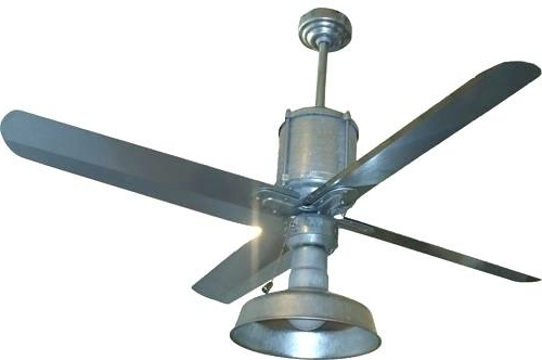 Outdoor Metal Fan Galvanized Ceiling Fan Outdoor Metal Outdoor Metal Within Most Current Outdoor Ceiling Fans With Metal Blades (View 8 of 15)