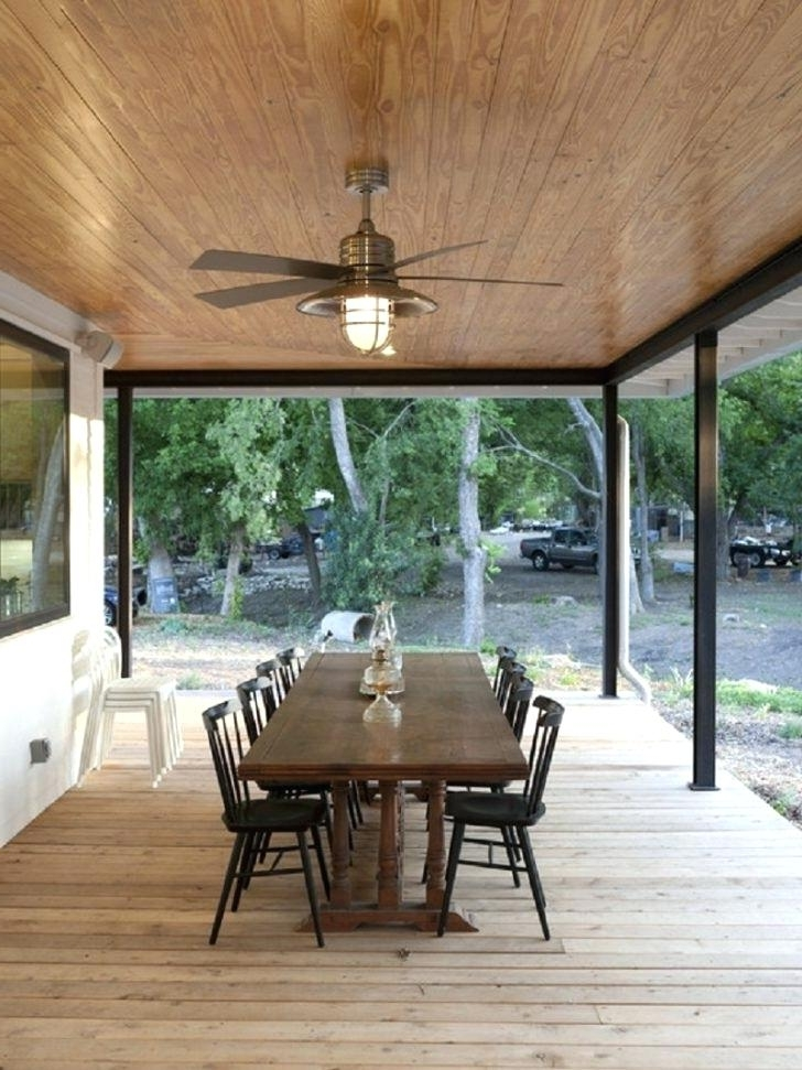 Outdoor Patio Ceiling Fans With Lights With Most Recently Released Outdoor Porch Ceiling Ideas Gorgeous Outdoor Patio Ceiling Ideas (View 9 of 15)