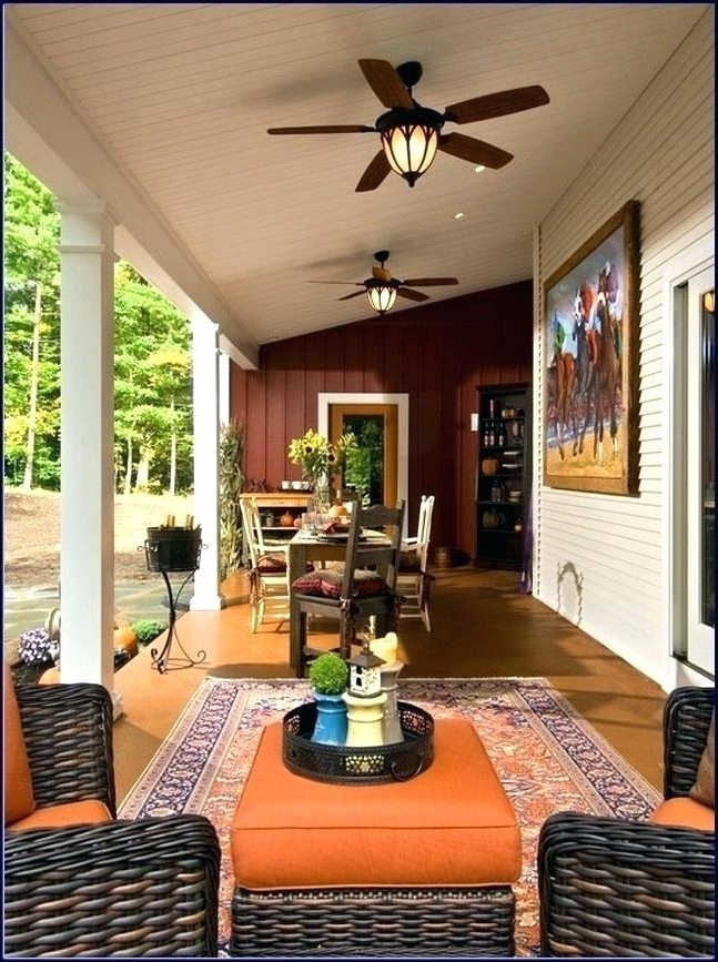 Outdoor Patio Ceiling Fans With Lights With Regard To Most Up To Date Outdoor Fan And Light Outdoor Fan With Light New Fan Light Kits For (View 7 of 15)