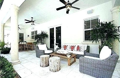 Outdoor Porch Ceiling Fans With Lights With Regard To Well Liked Outside Ceiling Fans Porch Ceiling Fans Brilliant Outdoor Breeze Fan (View 11 of 15)