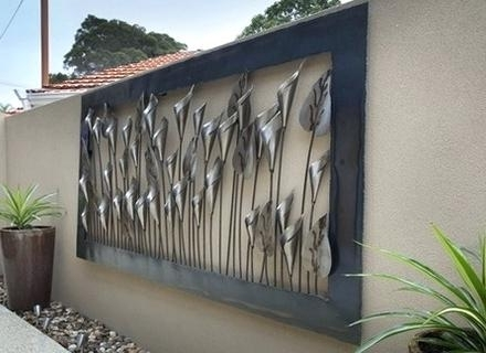 Outdoor Wall Art Metal Outdoor Wall Art Large Size Of Wall Art Ideas Pertaining To Famous Large Garden Wall Art (View 9 of 15)