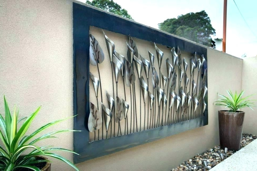 Outdoor Wall Sculpture Art Throughout Best And Newest Hanging Metal Art Outdoor Wall Sculptures Metal Hanging Metal Art (View 7 of 15)