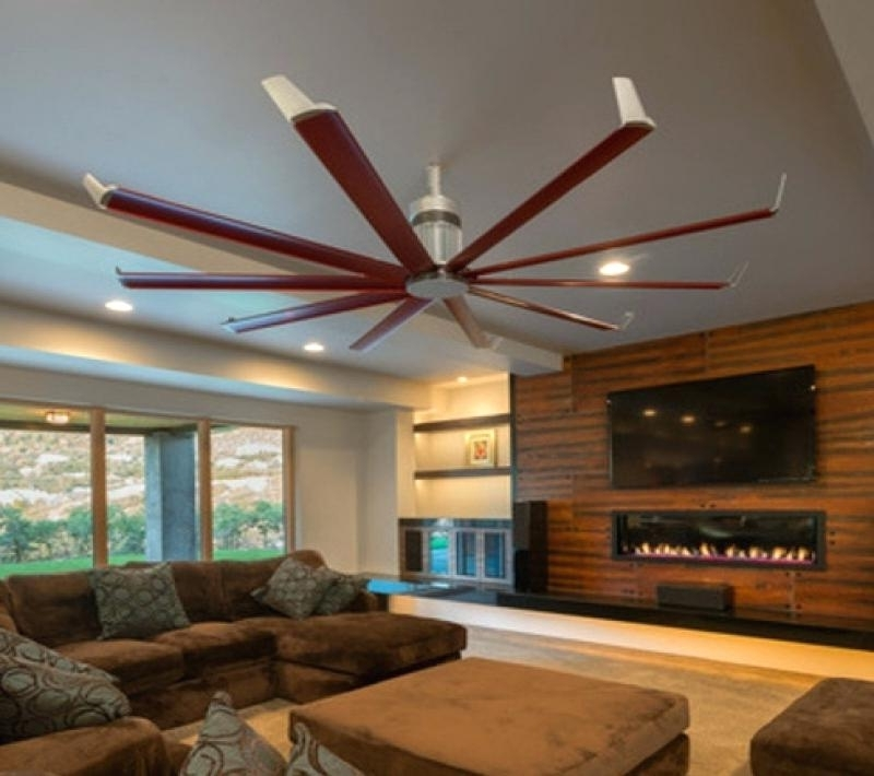 Oversize Ceiling Fans – Dubemmichael Within 2017 Oversized Outdoor Ceiling Fans (View 4 of 15)