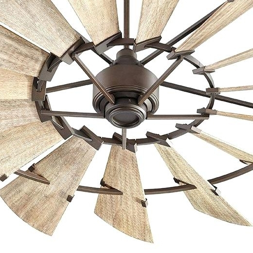 Oversized Outdoor Ceiling Fans Intended For Fashionable Big Ceiling Fans Best Farmhouse Ceiling Fans Ideas On Ceiling Fan (View 6 of 15)