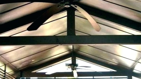 Oversized Outdoor Ceiling Fans Throughout Well Known Big Ceiling Fans With Lights Large Ceiling Fans Big Large Classical (View 8 of 15)