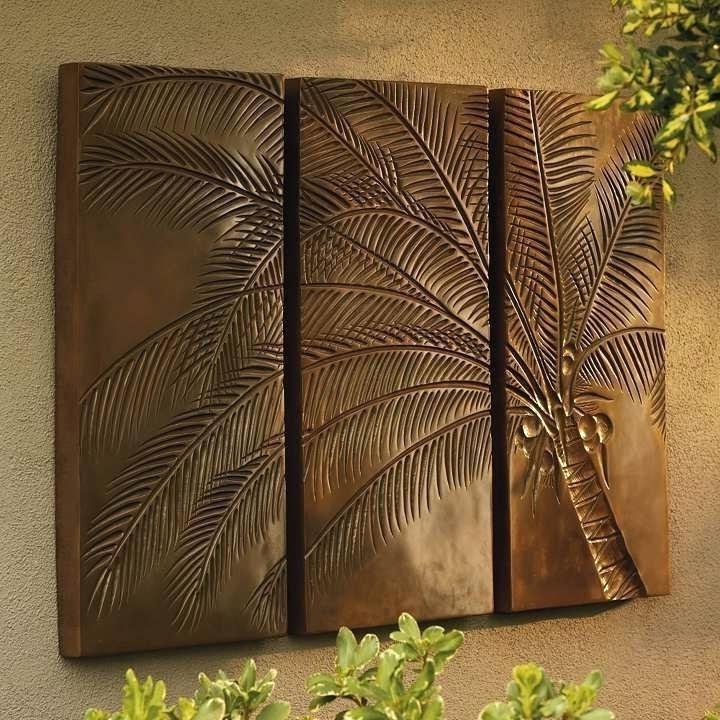 Palm Tree Metal Art In 2017 Metal Palm Tree Wall Art – Www (View 10 of 15)