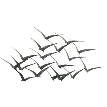 Para El Hogar Throughout Most Recently Released Birds In Flight Metal Wall Art (View 3 of 15)