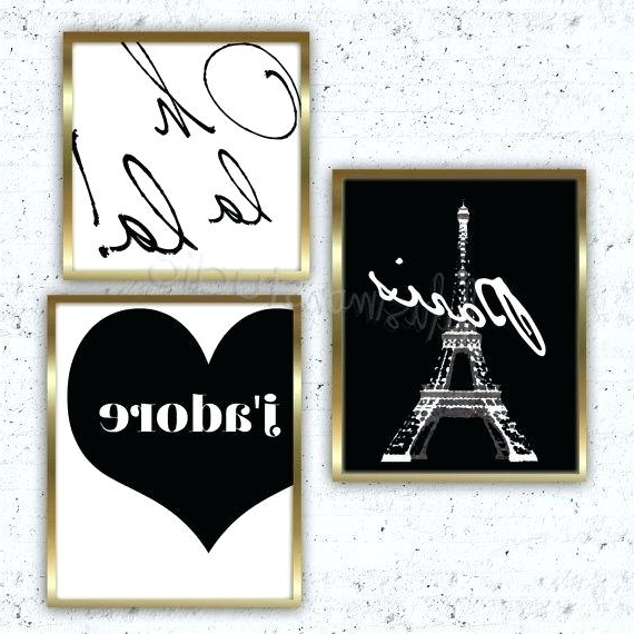 Paris Theme Nursery Wall Art With Favorite Paris Theme Nursery Wall Art I Love You Baby This Is Too Cute For A (View 8 of 15)