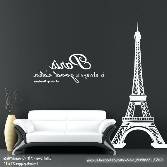 Paris Theme Wall Art Decorations Paris Style Wall Art – Dannyjbixby Pertaining To Most Current Paris Theme Wall Art (View 6 of 15)