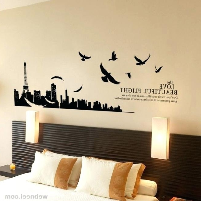 Paris Theme Wall Art In Most Current Paris Theme Wall Art Wall Decor Wall Art Designs For Bedroom (View 10 of 15)