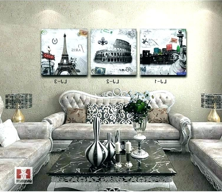 Paris Theme Wall Art Wall Decor Wall Art Designs For Bedroom Pertaining To Trendy Paris Themed Wall Art (View 5 of 15)