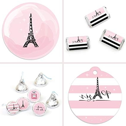Paris Themed Stickers With Recent Amazon: Paris, Ooh La La – Paris Themed Baby Shower Or Birthday (View 10 of 15)
