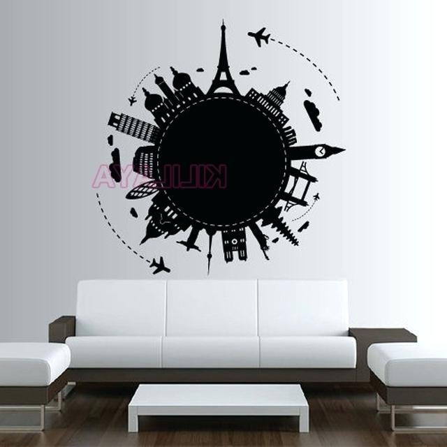 Paris Themed Wall Art – Artorical Throughout Preferred Paris Vinyl Wall Art (View 9 of 15)