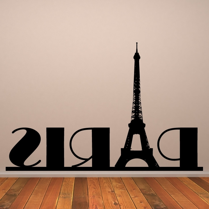 Paris Themed Wall Art Intended For Widely Used Home Decor Accessories The Stories Of Paris Wall Decor Wall Decor (View 7 of 15)