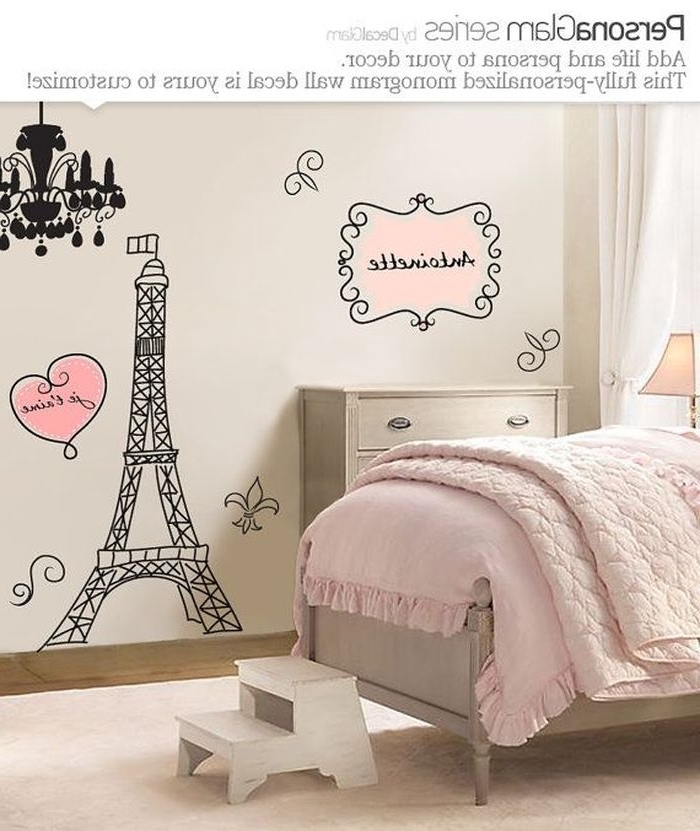 Paris Themed Wall Art With Most Current  (View 11 of 15)