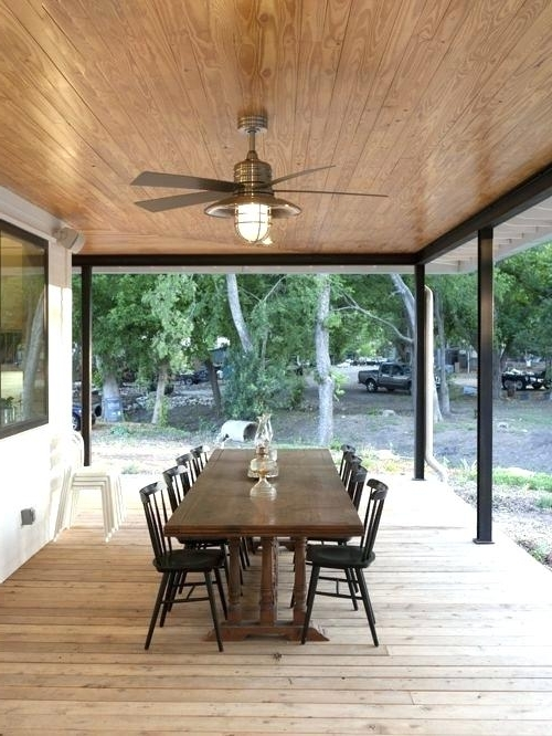 Patio Ceiling Fans Image Of Outdoor Patio Ceiling Fans Ideas Outside Throughout Well Known Outdoor Porch Ceiling Fans With Lights (View 13 of 15)