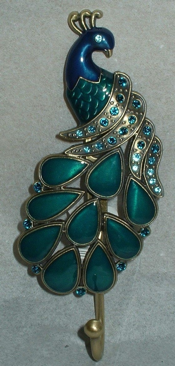 Featured Photo of Jeweled Peacock Wall Art